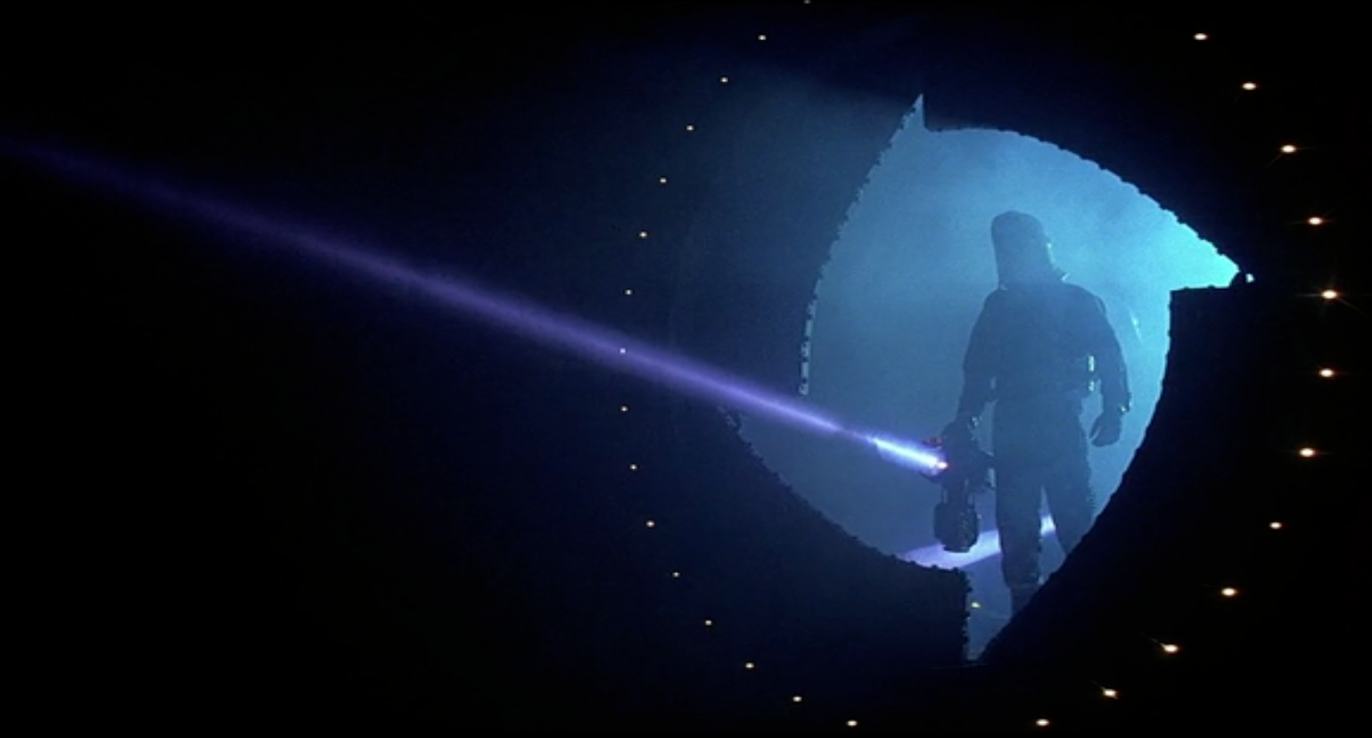 Still taken from the film Event Horizon.