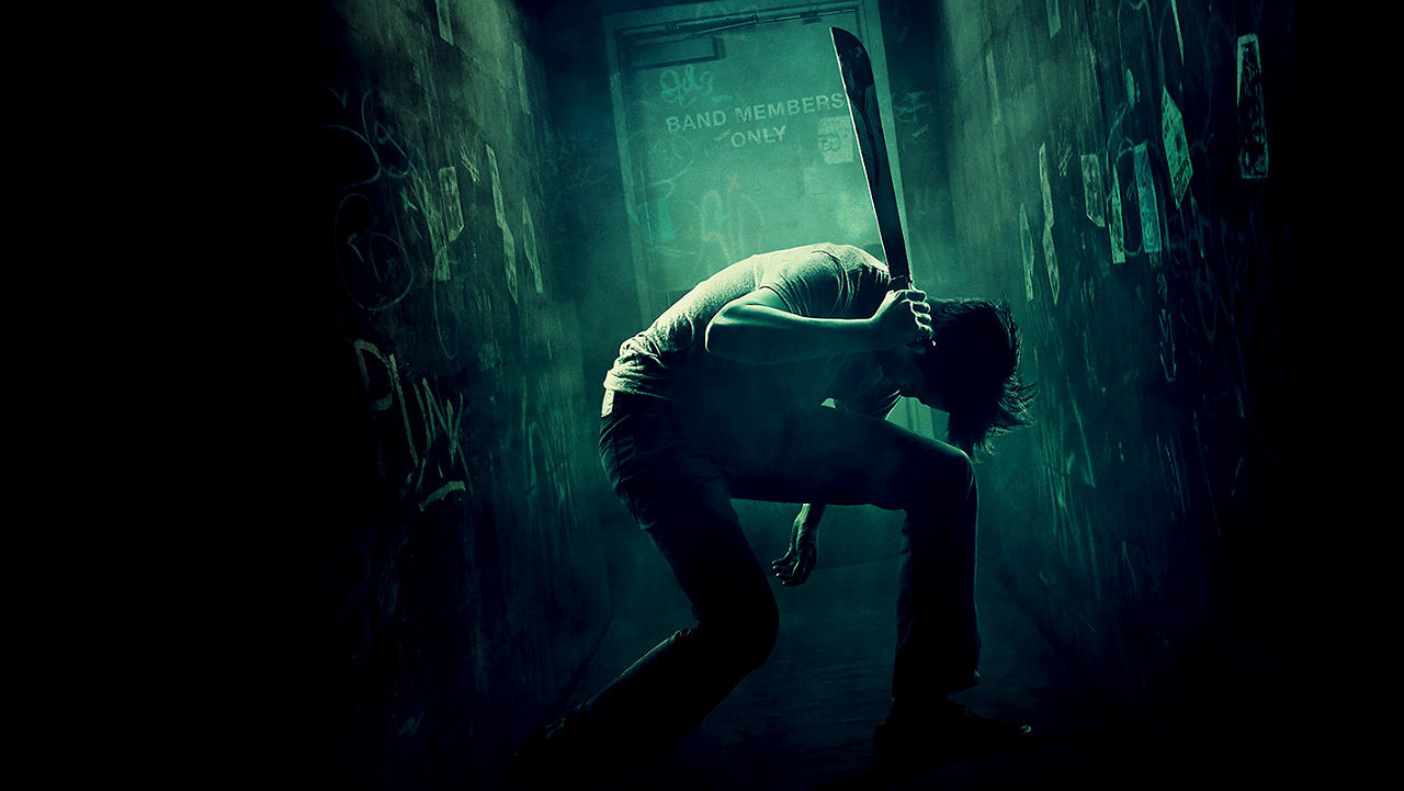 A promotional image for Green Room.