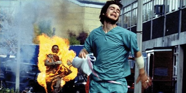 This image is a still from the movie 28 Days Later.