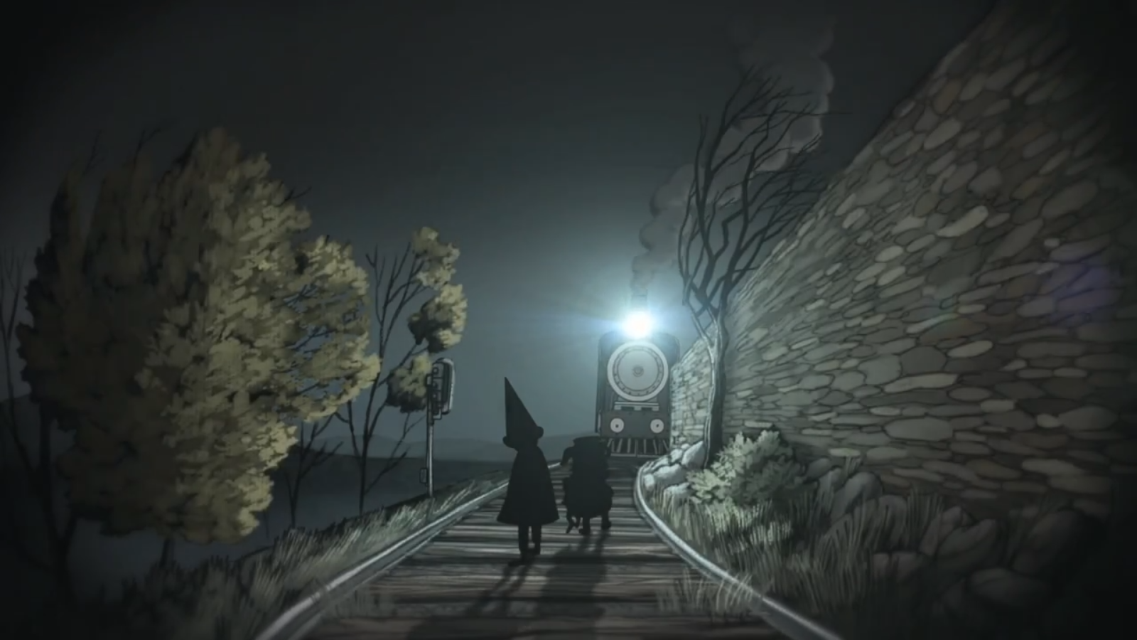 This is an image from the show Over the Garden Wall.