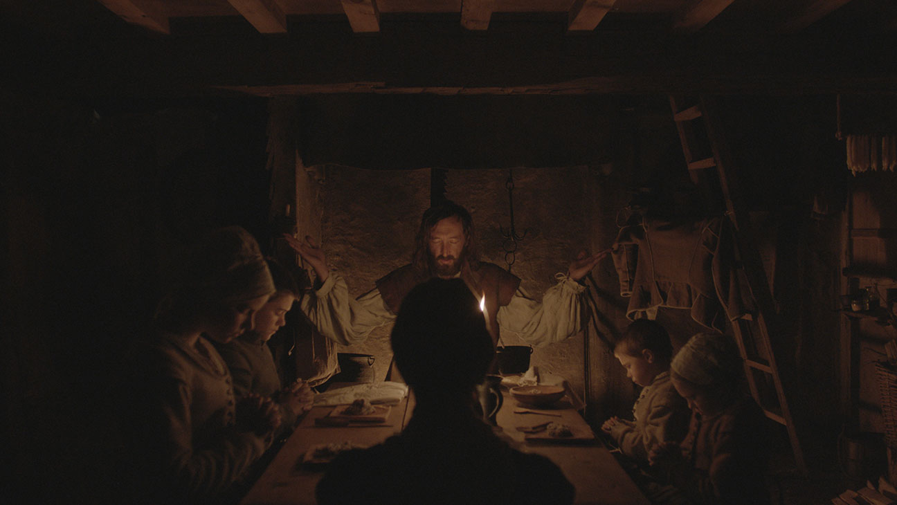 This is a still from the film The Witch.