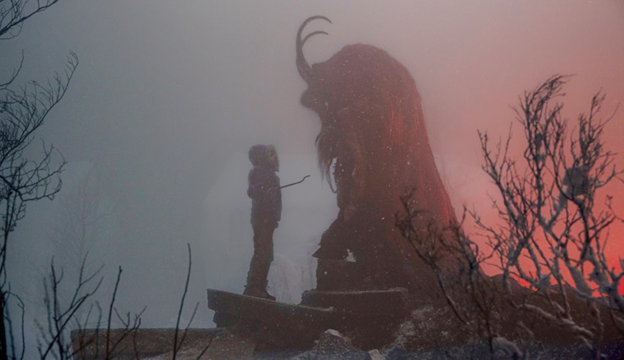 This is a still from the 2015 film, Krampus.