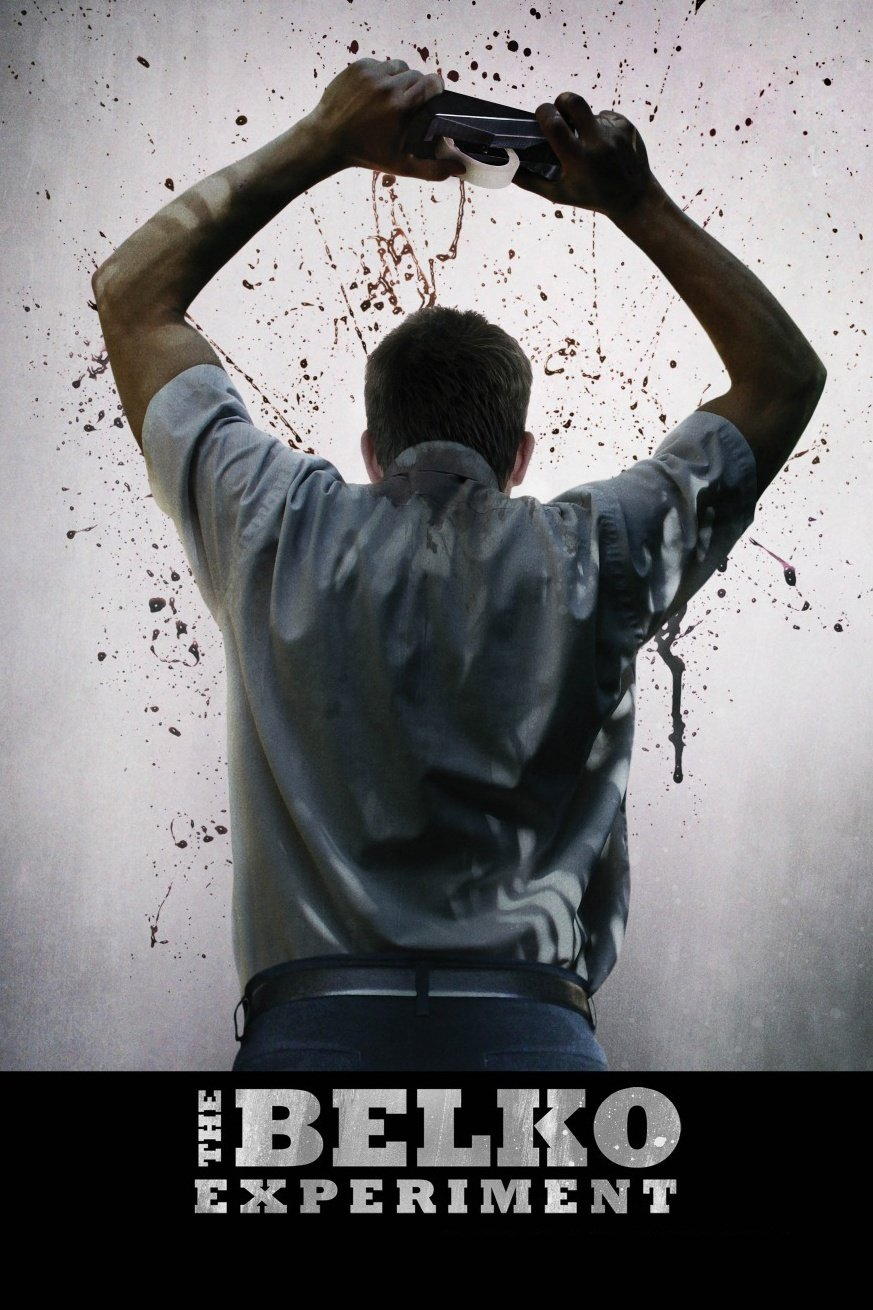 This is a poster for the film, The Belko Experiment.
