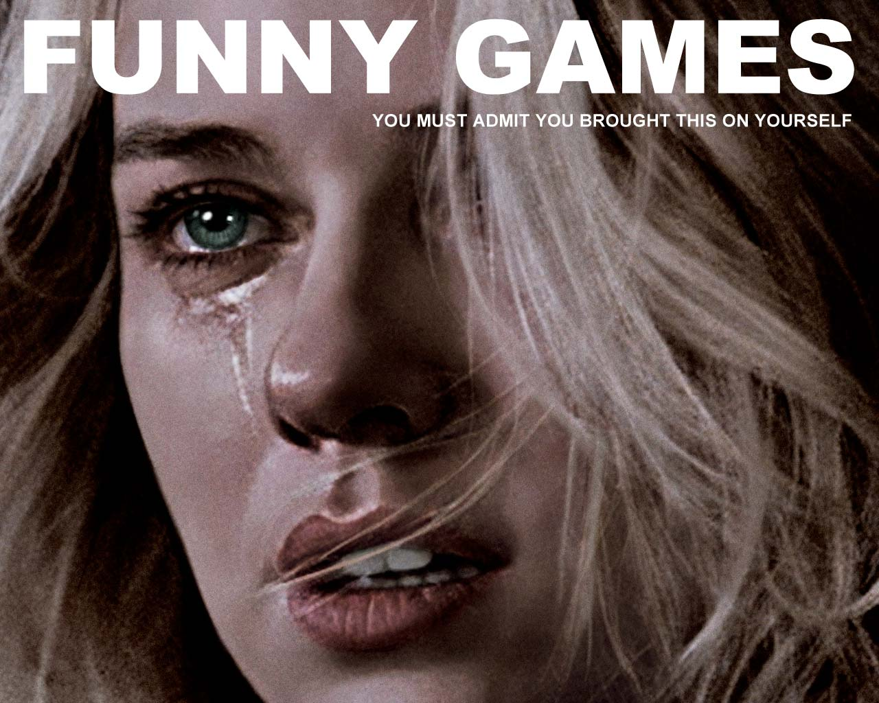 This is a poster for the movie Funny Games.