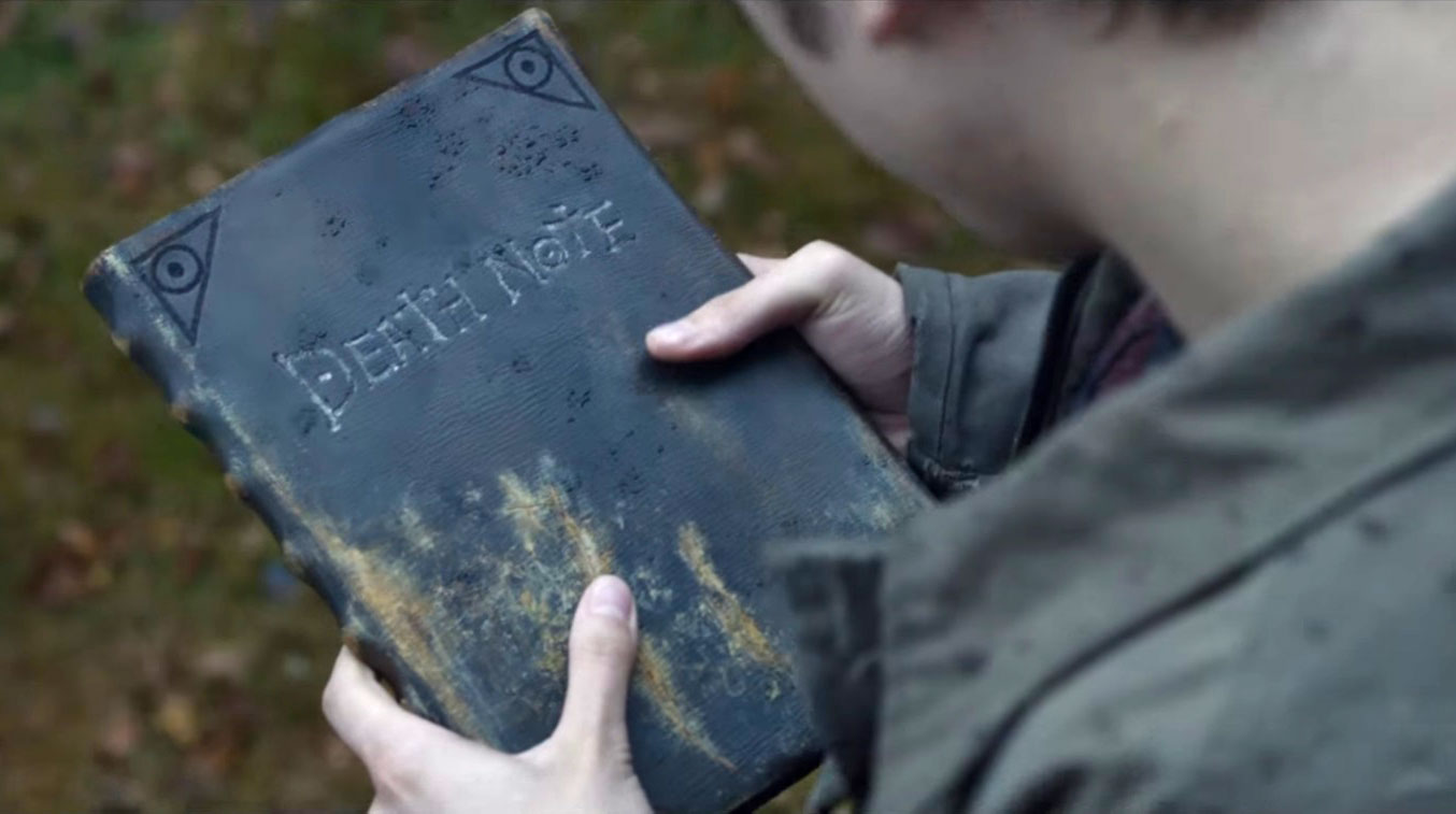 This is a still from the movie Death Note.