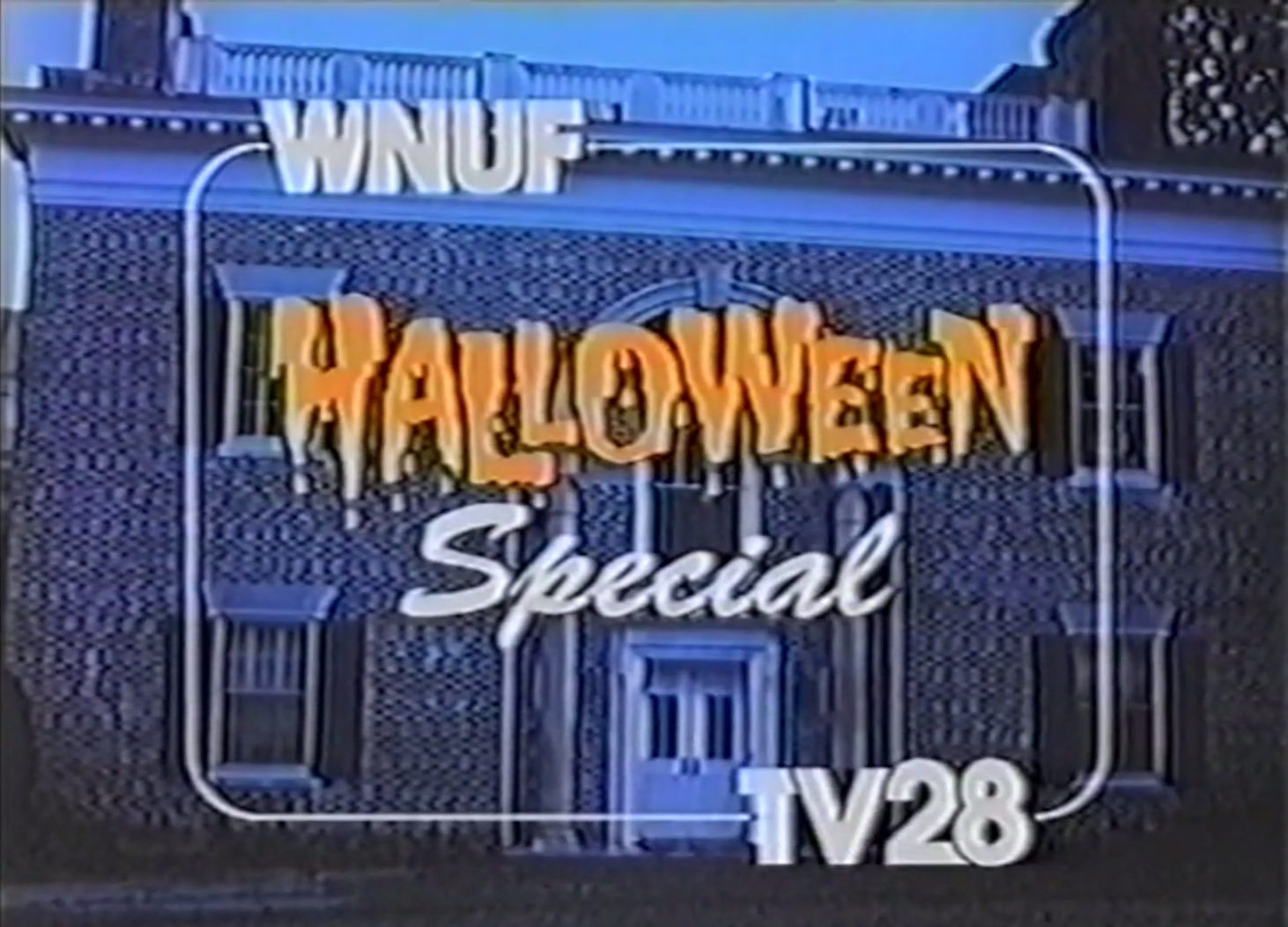Still from WNUF Halloween Special.