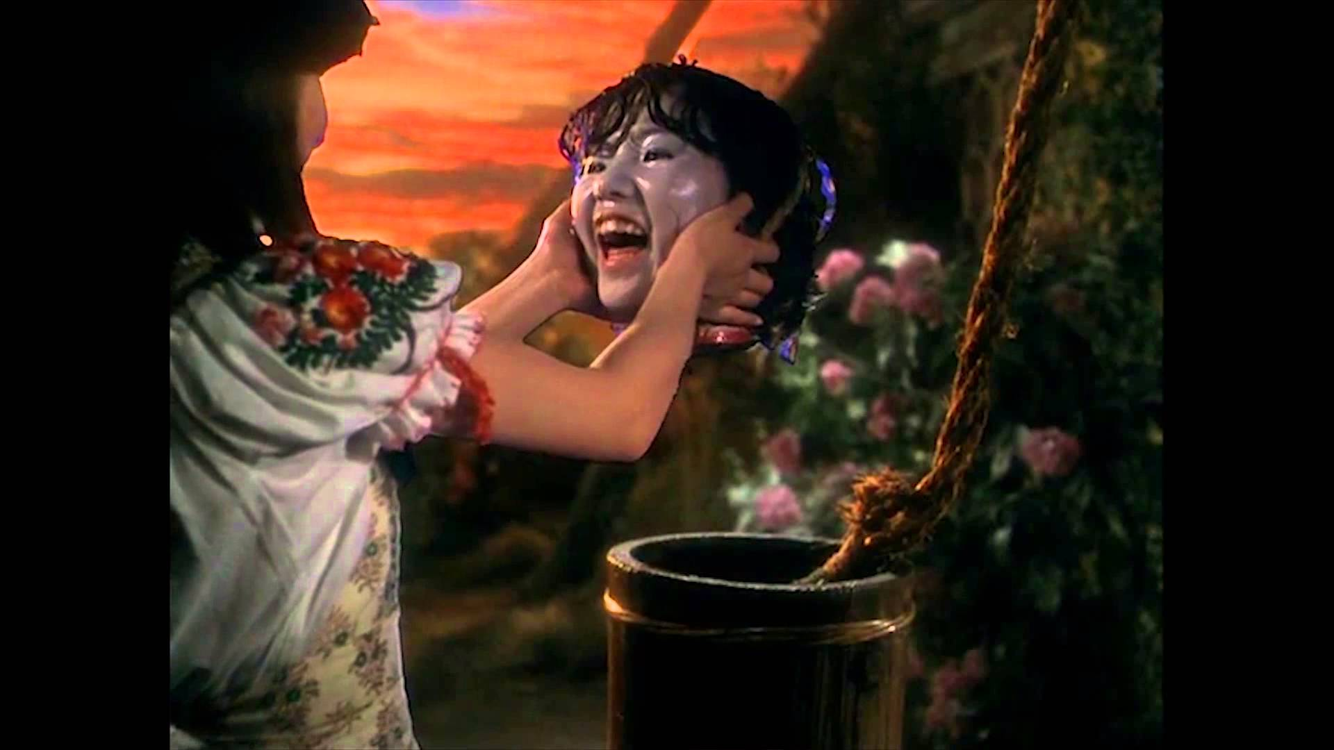 This is a still from Hausu.