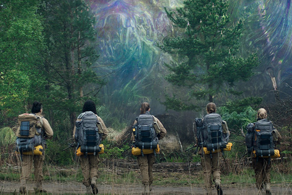 This is a still from Annihilation.
