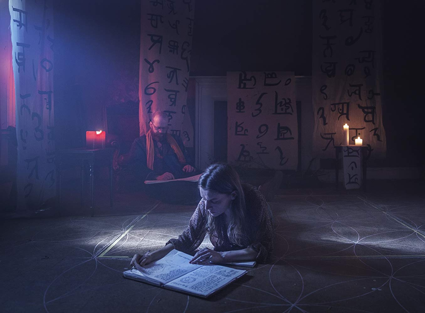 This is a still image from the movie A Dark Song.