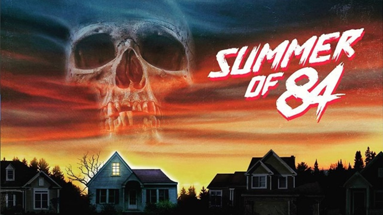 This is a poster for film Summer of 84.