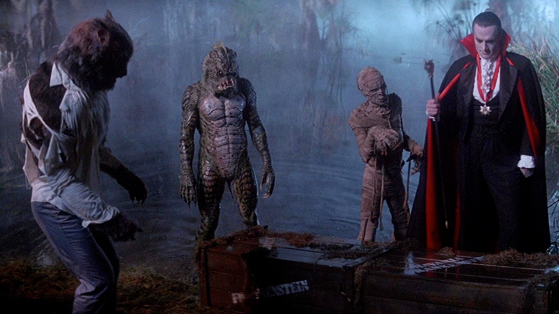 This is a still image from the film The Monster Squad.