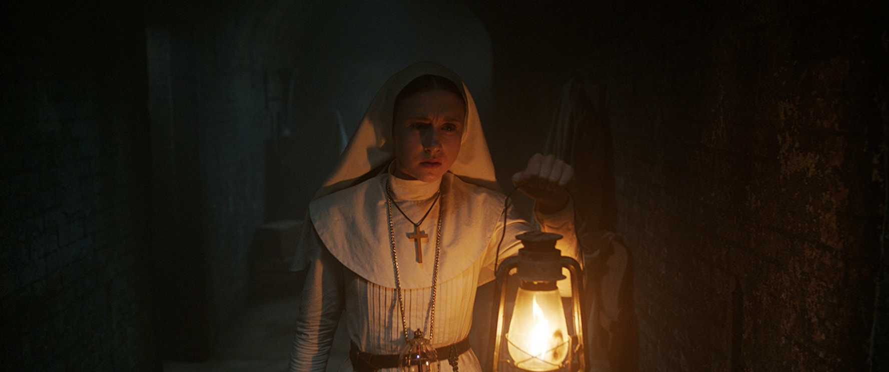 This is a still image from The Nun.