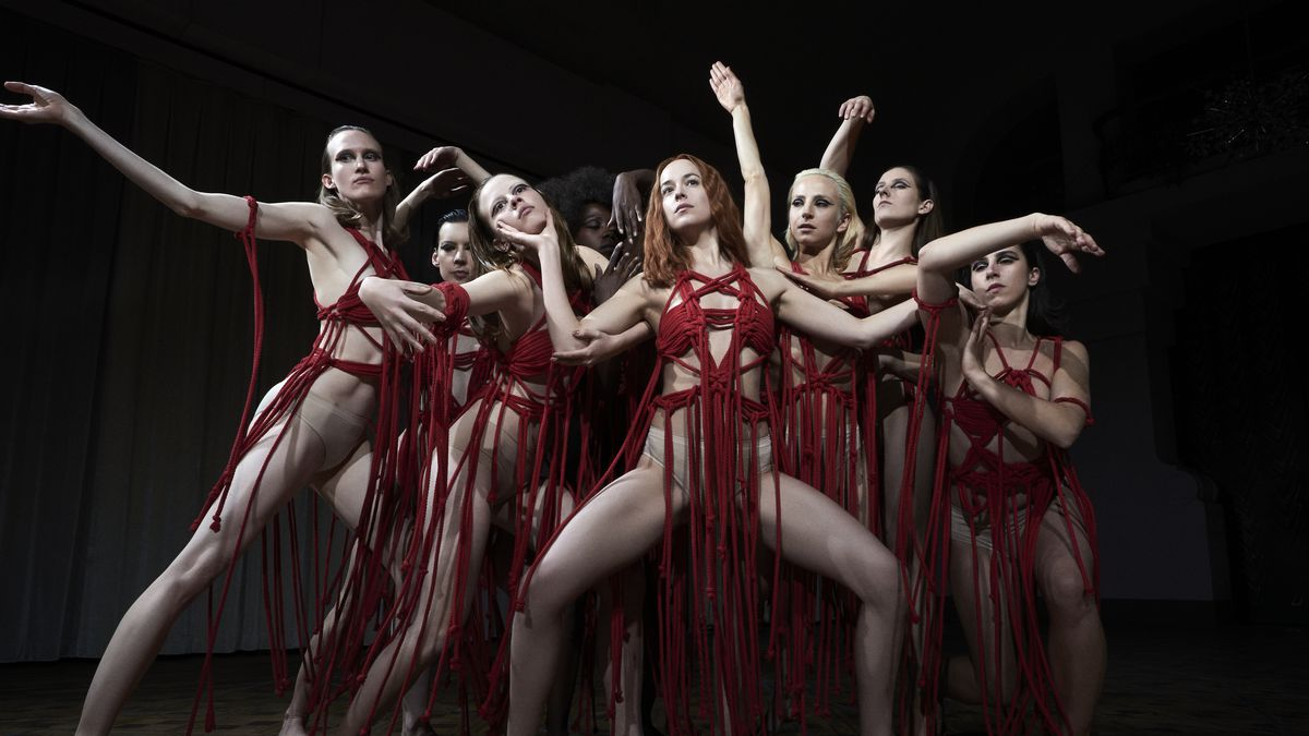 This is a still from the film Suspiria 2018.