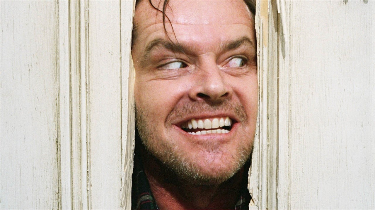 This is a still from the film, The Shining.