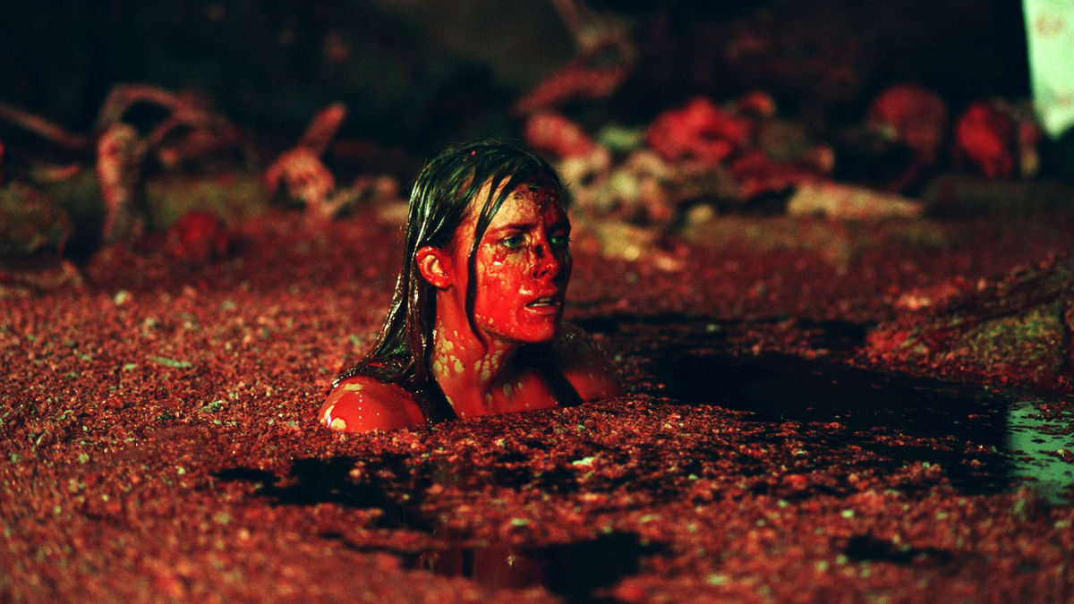 This is a still from the film, The Descent.