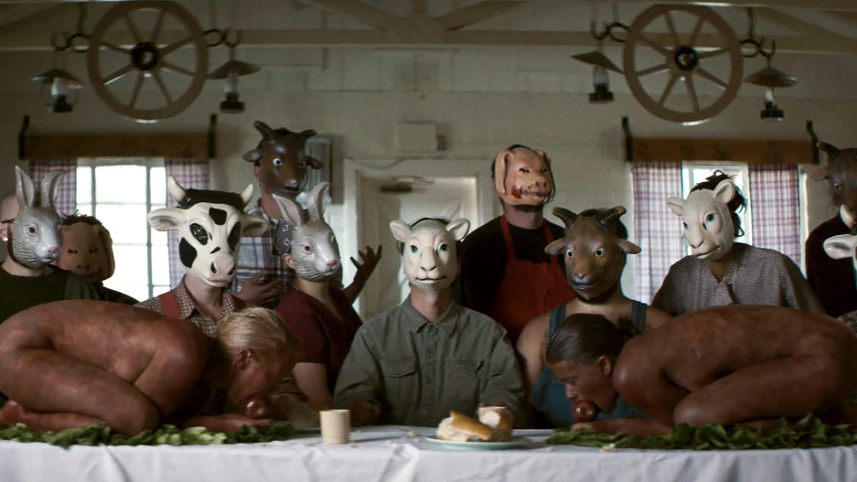 This is a still image from the movie, The Farm.
