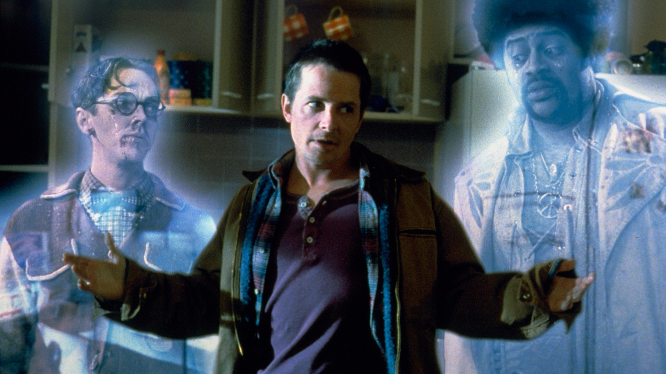 This is a still image from the movie, The Frighteners.